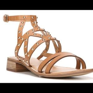 Pretty Nude/ Brown Sandals NWOT
